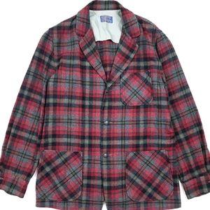 VTG 90's 80's Pendleton Wool Blazer Chore Jacket